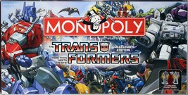 Monopoly Transformers Collector's Edition Board Game Complete Hasbro 2007 - $27.71