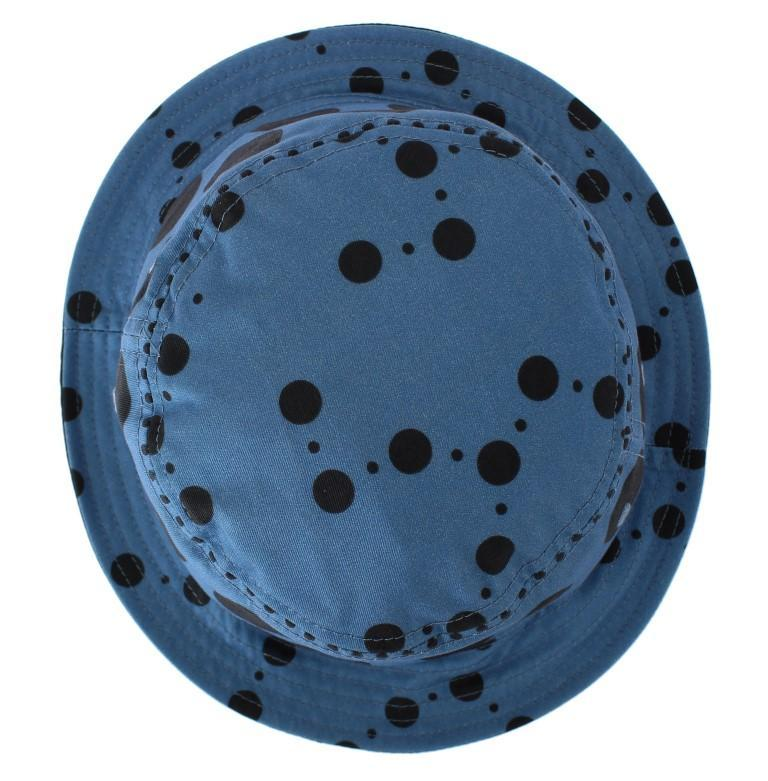 Dolce & Gabbana Blue Polka Cotton Silk Sun Hat 10572