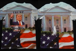 Donald Trump Some One With Balls Front And Back Sublimation USA Flag T-S... - $5.00