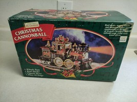 Mint! Condition - Mr Christmas Cannonball Train 1998 Rare Works! Christmas - $69.99