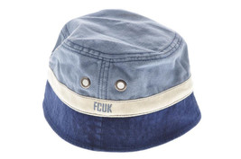 French Connection color block canvas bucket hat - One Size - New - $13.16