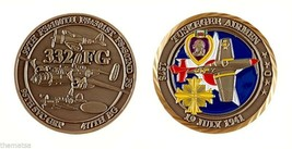 "TUSKEGEE AIRMEN AIR FORCE JULY 19, 1941 1.75"" MILITARY CHALLENGE COIN - $16.24"