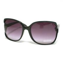 Large SQUARED Women's Designer Sunglasses Retro BLACK - $10.37 CAD