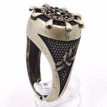 925 Silber Ring, Brüniert und Matt, Ruder, Seil Nautica, Taucher image 2