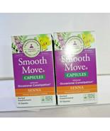 Traditional Medicinals Smooth Move Senna Capsules 50ct (2PK) (VS-T) - $24.27
