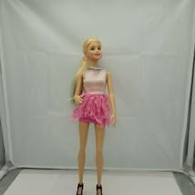 2013 Rainbow Barbie Doll W/Jewelry Accessories & Black Hi Heel Sandals - $17.81