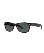 Ray Ban New Wayfarer RB2132 902 Sunglasses Tortoise With G-15 Green Lens - $69.50
