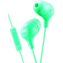 Jvc Marshmallow Inner-ear Headphones With Microphone (green) JVCHAFX38MG - $19.51