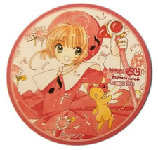 Cardcaptor Sakura Pink Animate NFS Anime Coaster * Card Captor - $4.88