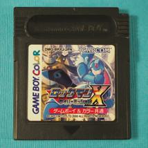 Rockman X – Cyber Mission (Nintendo Game Boy Color GBC, 2000) Japan Import image 1