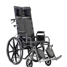 Drive Medical Sentra Reclining Wheelchair With Desk Arms 22'' - $584.19