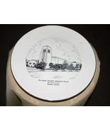 vintage rhythm homer laughlin glendale methodist church 10 inch plate - $5.49