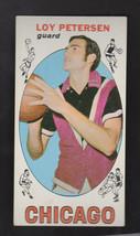 1969 Topps Basketball #37 Loy Peterson Bulls - $12.60
