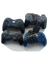 sony Playstation 2 controller lot with one ps3 controller untested - $4.95