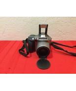 Olympus IS-20 High Resolution SLR 28-110 4X Zoom 35mm Camera w/Case & Ma... - $35.00