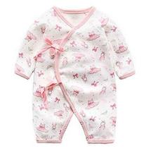 Cotton Baby Long Sleeve Baby Clothes Newborn Baby Clothes [I] - £15.31 GBP