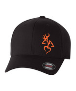 Buck and Doe Heart  HUNTING DEER BUCK HUNTER  FLEXFIT HAT *FREE SHIPPING... - $19.99
