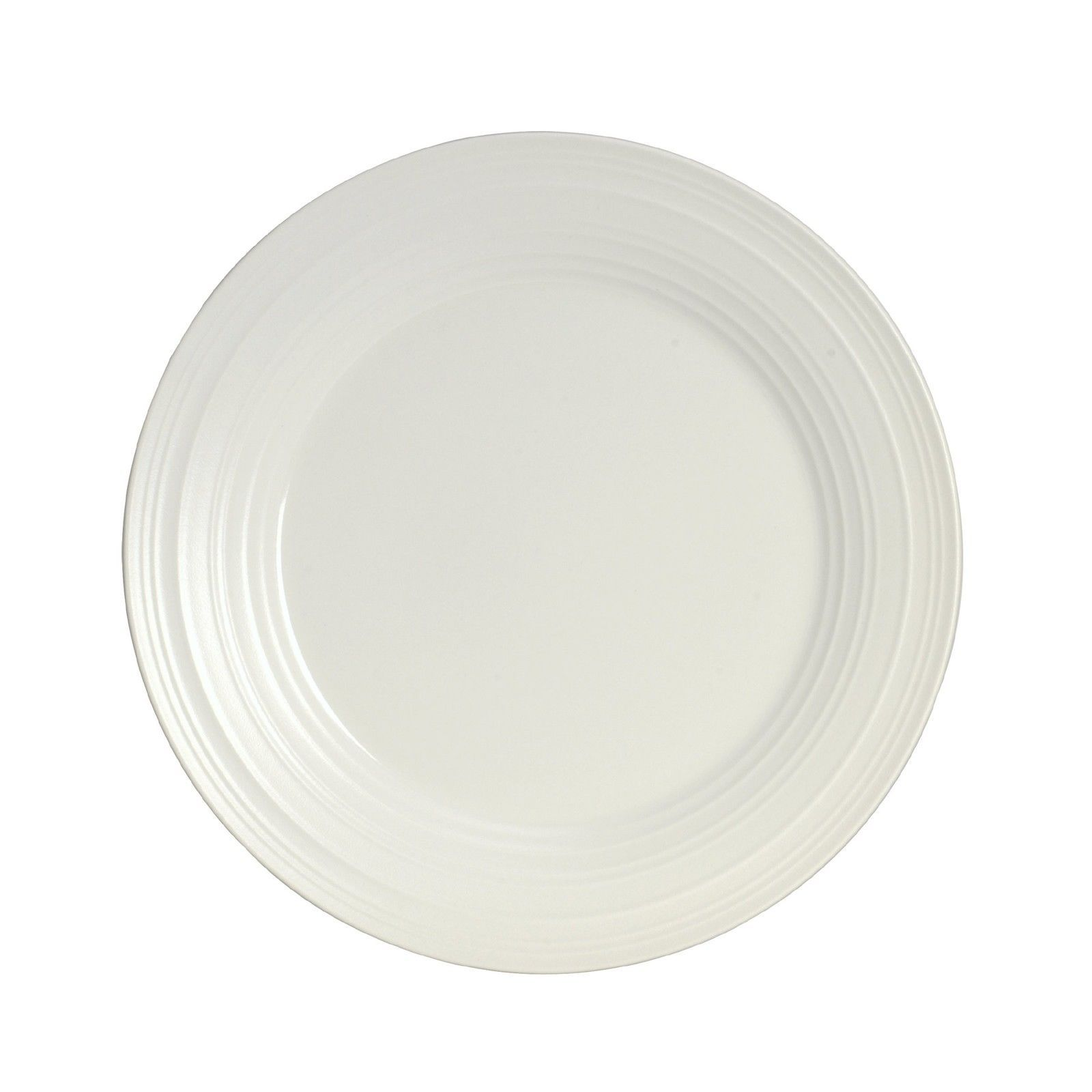 Mikasa Swirl 4 Piece Dish Set White
