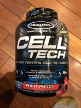 Muscletech Cell Tech The Most Powerful Creatine Formula Fruit Punch 6lb ... - $49.49