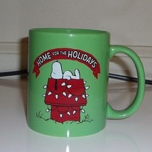 Peanuts Snoopy Home for the Holidays Coffee Cup 2015 - $11.66