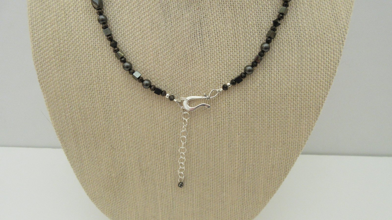 Hematite Arrowhead Pave Pendant Swarovski Necklace Earrings Handmade