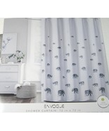 Envogue Gray Elephants Shower Curtain - $35.00