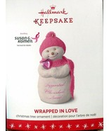 2016 Hallmark Keepsake Ornament - Wrapped In Love - Susan G. Komen - $6.23