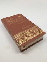 Biblia Bilingue Ingles/Spanish Bilingual Bible Piel Catolica Catholic Le... - $35.95