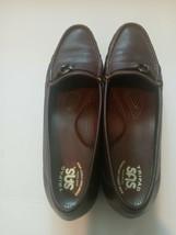 SAS Tripad Comfort Brown Loafers Shoes Flats Slip On Horsebit Sz 11 1/2 Slim USA - $29.49