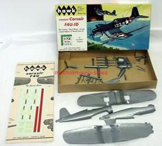 Hawk 604~Vought Corsair F4U-1D~1/72 Scale~Plastic Model Airplane Kit~WW2 USN - $16.00