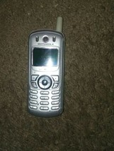 Motorola C343c C343 Tracfone Silver Cell Phone  - $18.70