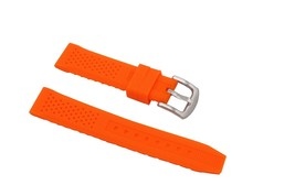 16mm Fashion Ladies Sports Watches Silicone Bands Perforated Watch Bracelet Rubb - $22.09