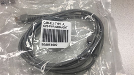 ORIGINAL Datalogic Barcode Scanner 90A051902 CAB-412 OPT-PWR, Powered US... - $27.72