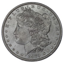 1879 $1 Silver Morgan Dollar in Choice BU Condition - $68.31