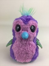 "Hatchimals Penguala Interactive Pink Purple Penguin Pet Spin Master 5"" Hatched - $24.70"
