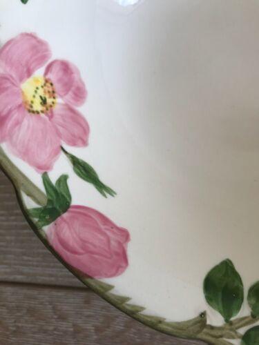 "Franciscan Desert Rose Serving Bowl 9"" California image 3"