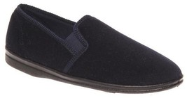 Mens Slippers Grosby Percy Brown or Navy Slipper Size 6-12 New - $27.75 CAD
