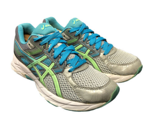 Asics Running Gel Contend 3 T5G5N Gym Fitness Womens Size 8 Shoes Fast Shipping - $44.10