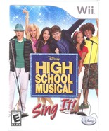 High School Musical: Sing It (Nintendo Wii, 2007) VGC - $12.99