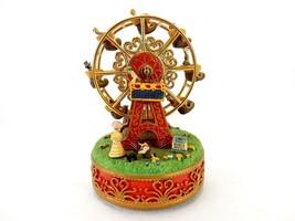 Vintage Liberty Falls Village Ornaments, Ferris Wheel, Damaged - $4.85