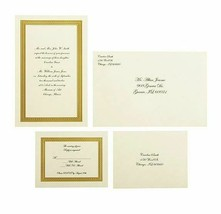 Wilton Invitation Kit Ivory Braided Elegance Print Your Own - $12.34