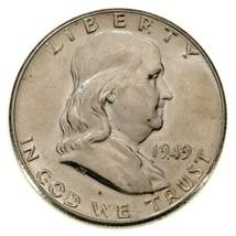 1949 Franklin Half Dollar in Choice BU Condition, Excellent Eye Appeal - $54.44