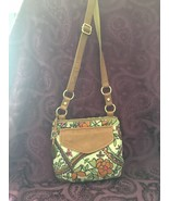 Fossil Textile and Leather Crossbody / Shoulder Bag, EUC - $53.90