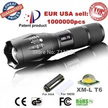 E17 XM-L T6 3800LM Aluminum Waterproof Zoomable CREE LED Flashlight Torc... - $354,53 MXN+