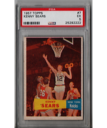 1957 Topps Kenny Sears Rookie #7 PSA 5 P584 - $27.98
