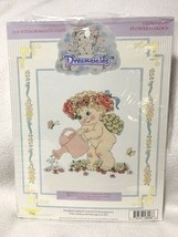 NEW Leisure Arts Dreamsicles Flower Garden Counted Cross Stitch Kit 48008 - $9.99