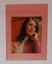 Vintage Hallmark For a Special Daughter Book Card Poems Quotes Treasures - $9.99