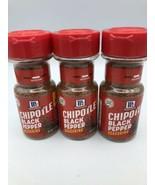 (3) McCormick Chipotle Black Pepper Seasoning, Best By Date 8/18, Sealed - $23.74