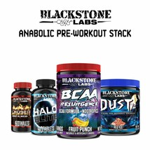Blackstone Labs Anabolic Pre-Workout - Dust V2 & Resurgence, Chosen, Hal... - $133.25