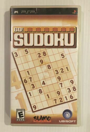 Primary image for GO SUDOKU -PSP - COMPLETE W/ MANUAL
